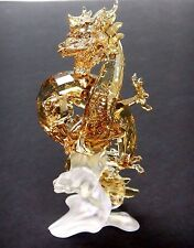 NOBLE DRAGON, SMALL CHINESE INSPIRED GOLDEN CRYSTAL 2016 SWAROVSKI #5136826