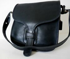 PRE-CREED! VINTAGE COACH 8920 NAVY LARGE COURIER POUCH