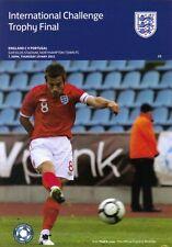 * ENGLAND C v PORTUGAL 2011 CHALLENGE TROPHY FINAL *