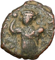 CONSTANS II 641AD  Authentic  Ancient BYZANTINE Coin Large m  i24149