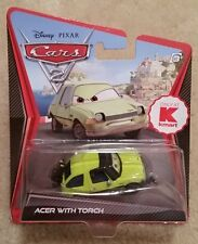 Disney Pixar Cars 2 • Acer With Torch • Kmart Exclusive 2012 Straight Cardback