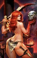 🚨🔥🗡 RED SONJA THE PRICE OF BLOOD #1 MATT DALTON Virgin Variant Ltd 500 COA