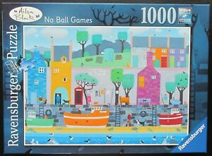Ravensburger 1000 Piece Jigsaw No Ball Games by Ailsa Black Done Once