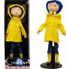 """NECA CORALINE 7"""" inch BENDY CLOTHED FASHION DOLL w/RAINCOAT *NEW PREORDER*"""