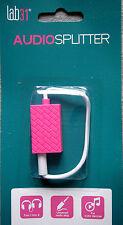 Estéreo-audio-astilla 3.5 mm Jack/conector 4-polos color rosa