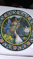 Set/5 Wedgwood Legends Of King Arthur Collectors Plates by Richard Hook-Numbered
