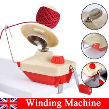 Swift Yarn Fiber String Ball Wool Winder Holder Hand Operated Winding Machine UK