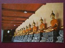POSTCARD ASIA BANGKOK - BUDDHA STATUES