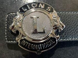 MENS DESIGNER BELTS FOR MEN REVERSIBLE LEATHER LUXURY CROCODILE LION BELT UK M L