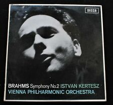 BRAHMS Symphony No. 2 Istvan Kertest  UK Decca 1965 SXL 6172 ED1 *MINT-* LP