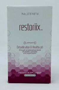 Ariix Nutrifii Restoriix Detoxification Healthy pH Detox Supplement 3.9 oz NEW