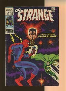 Doctor Strange 179 VG+ 4.5 * 1 Book * Spider-Man! Stan Lee & Steve Ditko! Marvel