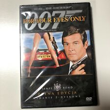For Your Eyes Only DVD (2007) James Bond 007 Roger Moore NEW Sealed Polish