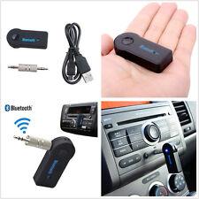 Pratique voiture off-road sans fil bluetooth 3.5mm aux audio musique reicever mic kit