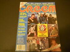 Missing Persons, Peter Gabriel, Lene Lovich, David Bowie - Creem Magazine 1983