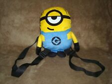 Despicable Me 3 Minion BACKPACK PLUSH from the dvd box gift set