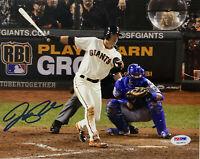 San Francisco Giants Joe Panik Signed 8x10 Photo - Autographed PSA DNA COA