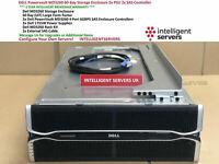 Dell PowerVault MD3260 2x SAS Controllers 2x 1755W PSU 60x LFF Storage Array