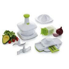 Kitchen Craft 5 in 1 Healthy Eating Manual Food Processor Preparation Tool