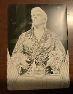 Ric Flair WWE 2018 Topps Legends Trading Cards Printing Plate (1 Of 1)