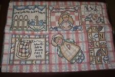 """Mommies Childrens Nursery Tapestry Panel Fabric Pillow Panel 26"""" L x 18""""H"""