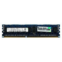 HP 8GB 1Rx4 PC3-12800R DDR3 1600 1.5V ECC Registered REG RDIMM Server Memory RAM
