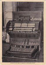 BOSSOLASCO - Consolle del Nuovo Organo 1970