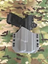 Battleship Grey Kydex Holster for Glock 19 23 32 Surefire XC1