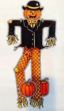 DAISY KINGDOM Smiley Jack Door Sewing Panel Scarecrow Jack-O-Lantern Halloween