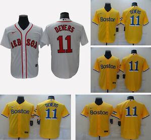Boston Red Sox #11 Rafael Devers Men's Stitched Jersey