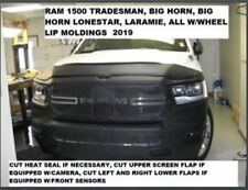 Lebra Front End Mask Cover Bra Fits 2019 Dodge Ram 1500 TRADESMAN, Big Horn & La