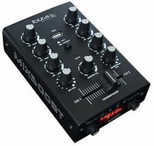 Ibiza Mix500bt 2 canaux USB Mixer BT Mix 500