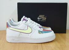 Nike Air Force 1 Easter 2020 Sneakers White Barely Volt Size UK 5.5 EU 39