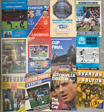 More details for 12 x everton cup semi & final programmes (all excellent/mint)