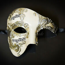 Phantom of the Opera Venetian Masquerade Mask for Men M31146