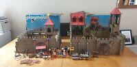 Two Vintage Playmobil System Castles 3450 & 3446 Rare Sets