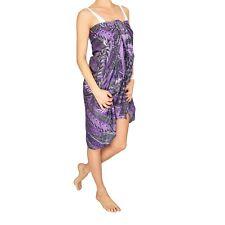 Basics Kleidung Schal Pareo Strand  Wickelrock Sarong Halstuch Loop beach Kleid