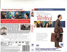 The Terminal-2004-Tom Hanks-2 Disc-Movie-DVD