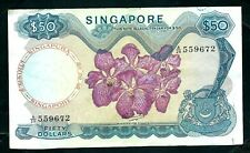 More details for singapore (p5) 50 dollars 1967 avf