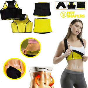Neoprene Body Shaper New Sweat Sauna Pants Gym Slimming Weight Loss Yoga Vest UK