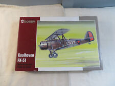 Special Hobby 1:72 Koolhoven FK-51 Model Kit Open SH72175