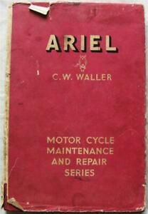 Pearsons ARIEL All Models from 1933 Motorcycle Maintenance Handbook 1948 1st Ed