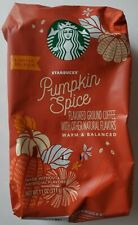 NEW Limited Edition Starbucks Pumpkin Spice Ground Coffee FREE WORLD SHIPPING