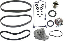 Honda Civic 01-05 L4 1.7L OEM Complete Timing Belt Water Pump Belts Kit