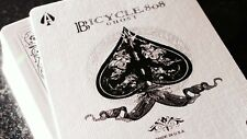 2 pack Ellusionist White Ghost Deck - Playing Cards - Bicycle Magic Tricks black