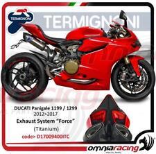 Termignoni Komplett Auspuff Titan Ducati Panigale 1199 12>14/1299 15>17