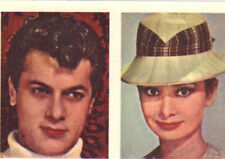 TONY CURTIS AUDREY HEPBURN CHARLTON HESTON MICHELLE GIRARON Trading Card