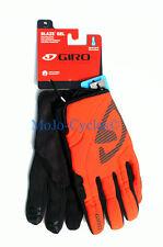 "Giro Blaze Gel Glove  Fall Winter Spring Multiple sizes Black ""Glowing Red""New"