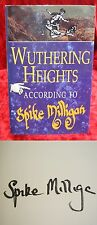 Spike Milligan - Hand-Signed - Wuthering Heights - 1994 with Bonus Photographs