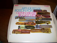 ARTHUR FIELDER & THE BOSTON POPS-GLENN MILLER'S BIGGEST HITS-LP-NM-RCA RED SEAL